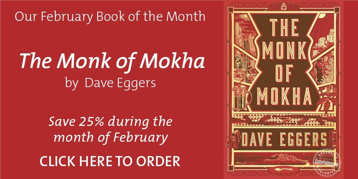 February Book of the Month - The Monk Of Mokha