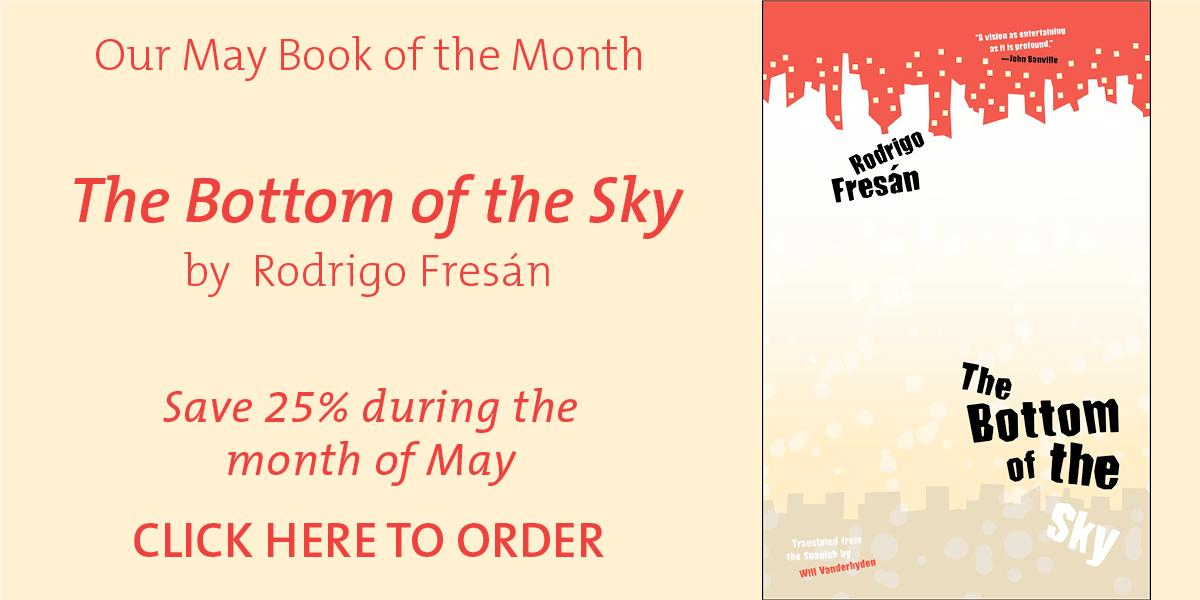 Home university book store save 25 on our may book of the month the bottom of the sky fandeluxe Image collections