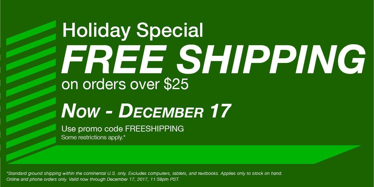 Free Shipping. Use Promo code: FREESHIPPING