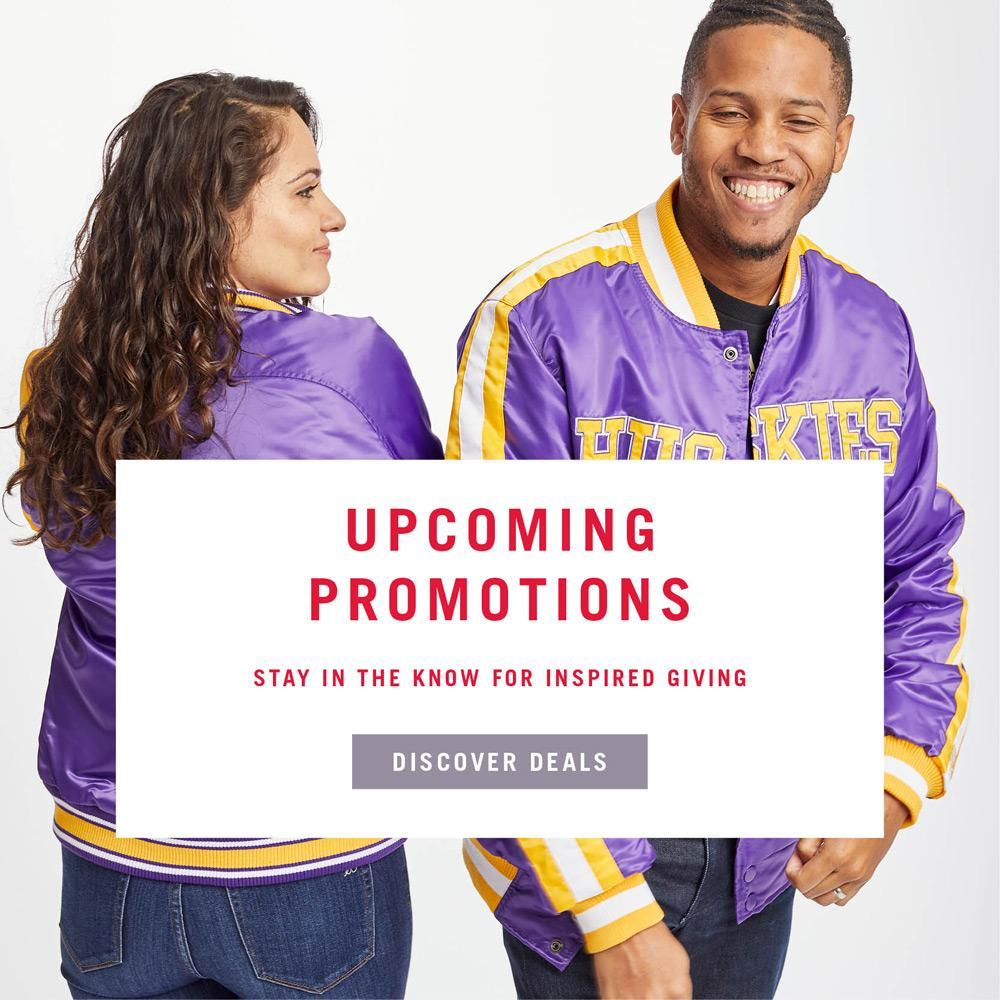 Upcoming Promotions