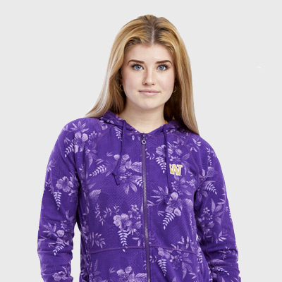 Tommy Bahama Womens Blossoms Full zip Hoodie