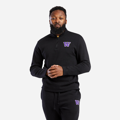 Colosseum Mens UW Quarter zip