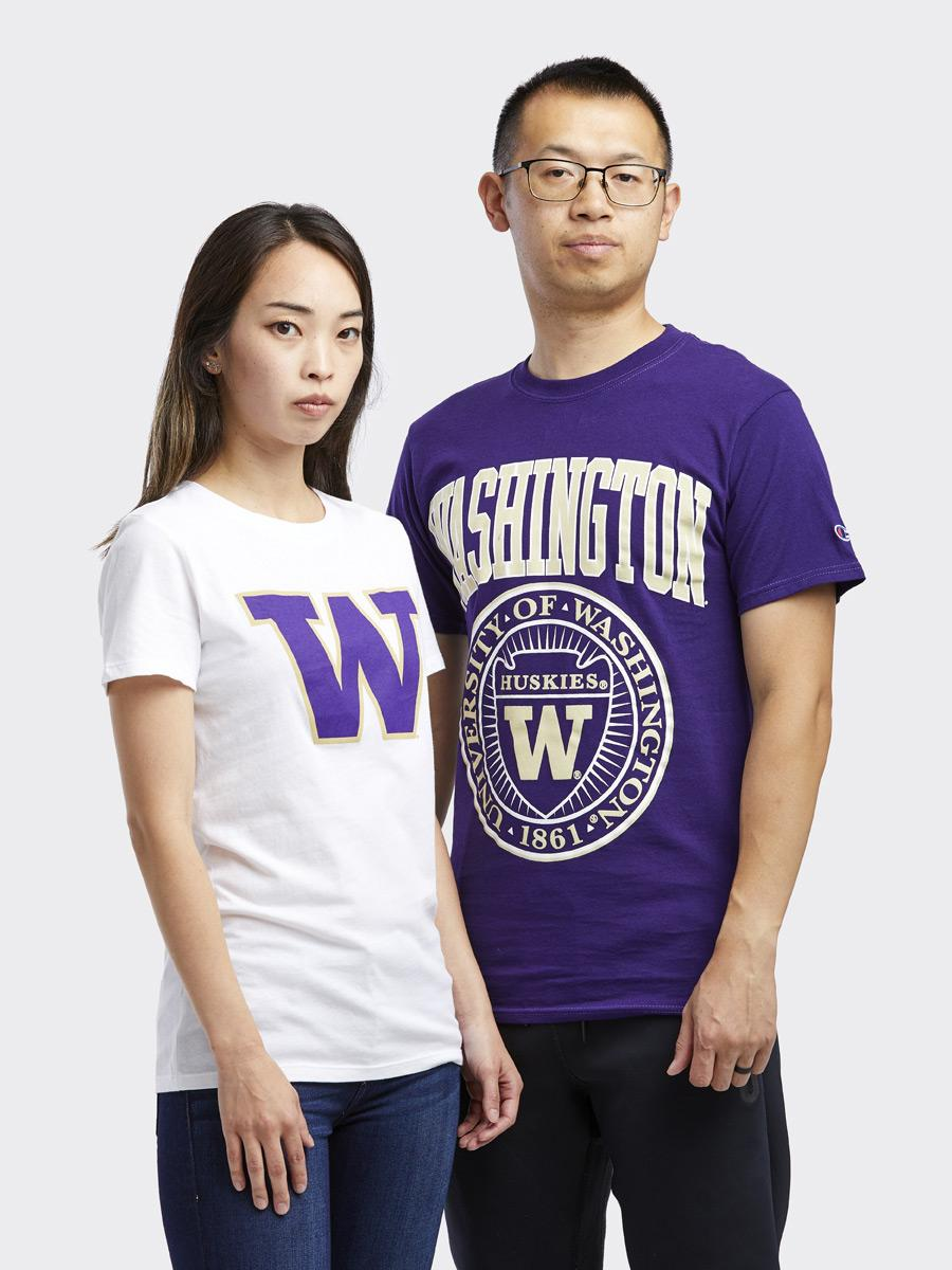 Champion Unisex Washington Oversized Seal Tee