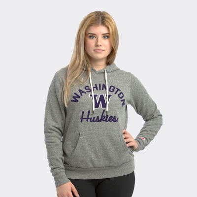 League Women's Washington Huskies Victory Springs Hoodie