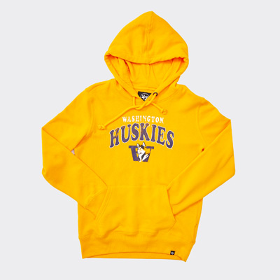 47 Brand Women's WA Huskies Retro Dog Headline Hoodie