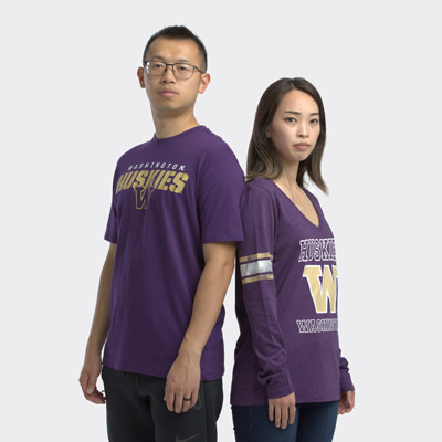 47 Brand Men's Washington Huskies Traction Rival Tee