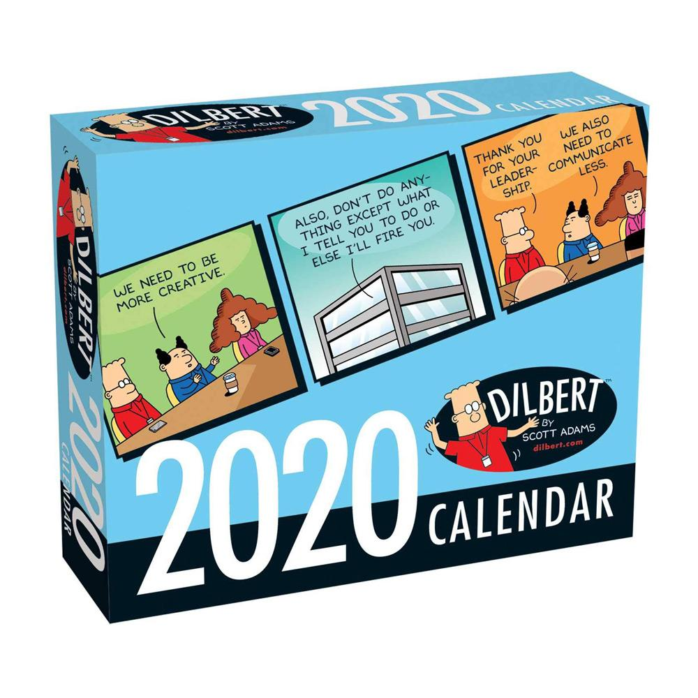 2020 Dilbert Day-to-Day Calendar Front