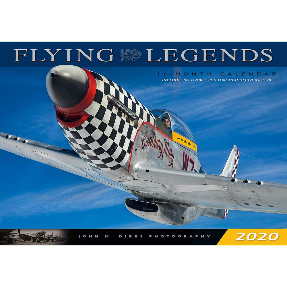 2020 Flying Legends Wall Calendar Front
