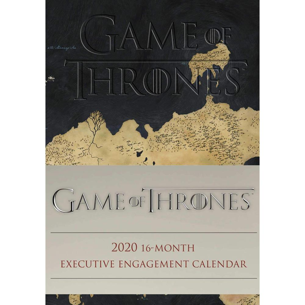 2020 Game of Thrones 16-Month Executive Engagement Calendar Front