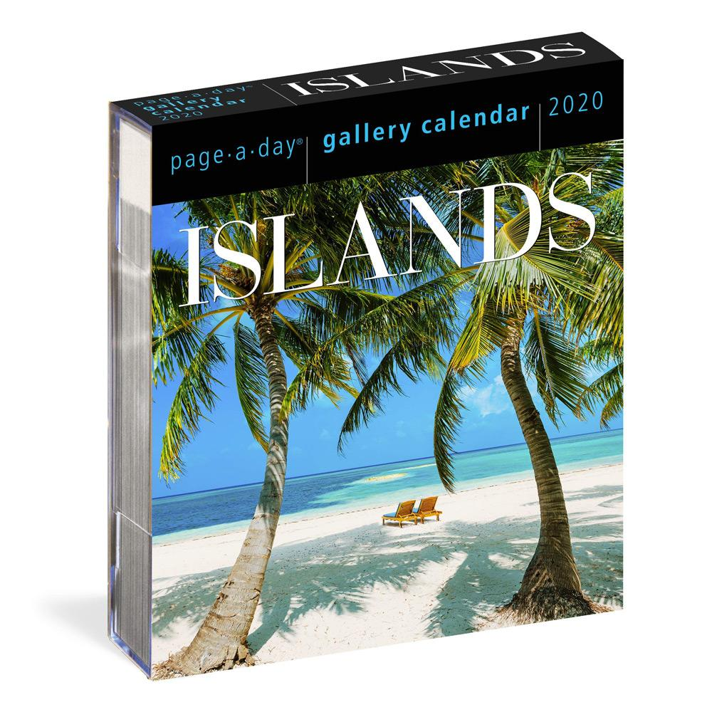2020 Islands Page-A-Day Gallery Calendar Front