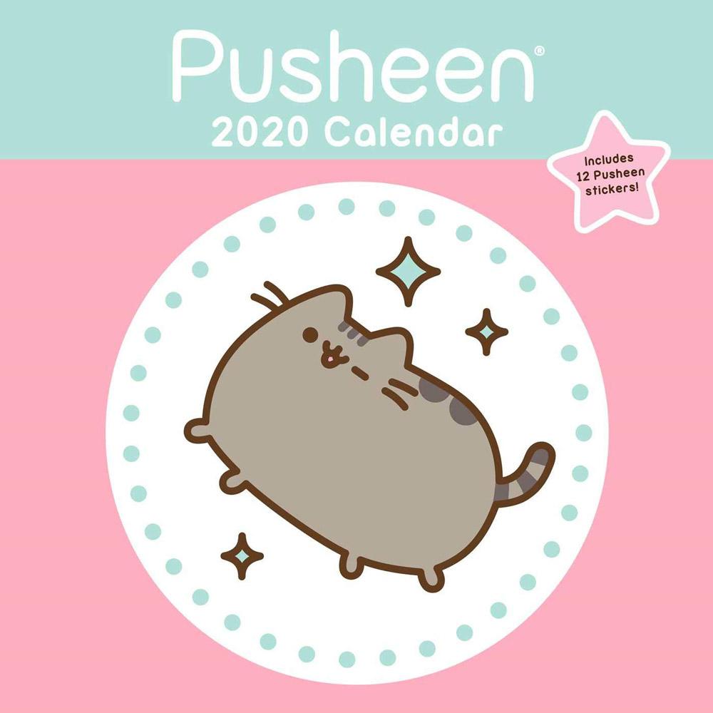 2020 Pusheen Wall Calendar