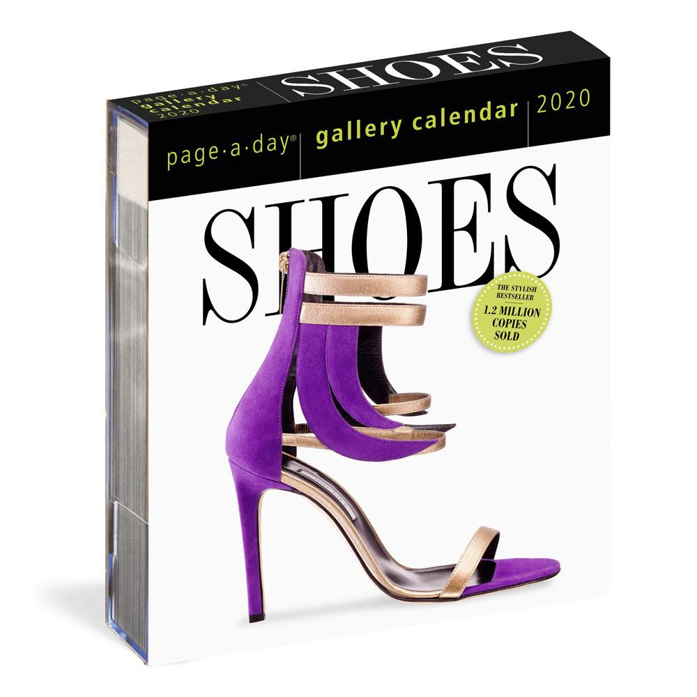 2020 Shoes Page-A-Day Gallery Calendar Front