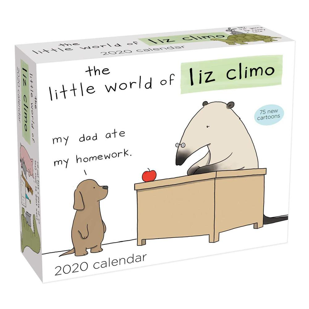 2020 The Little World of Liz Climo Day-to-Day Calendar Front
