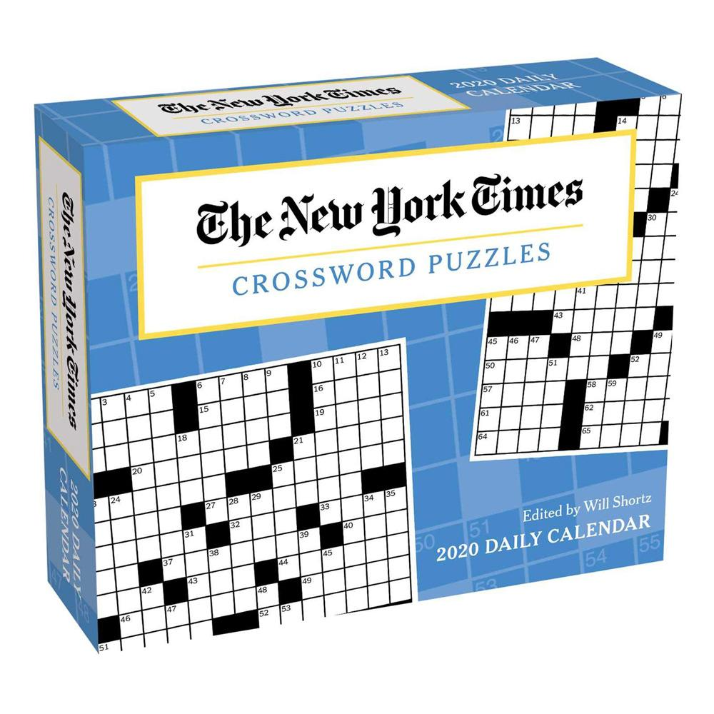 2020 The New York Times Crossword Puzzles Day-to-Day Calendar Front