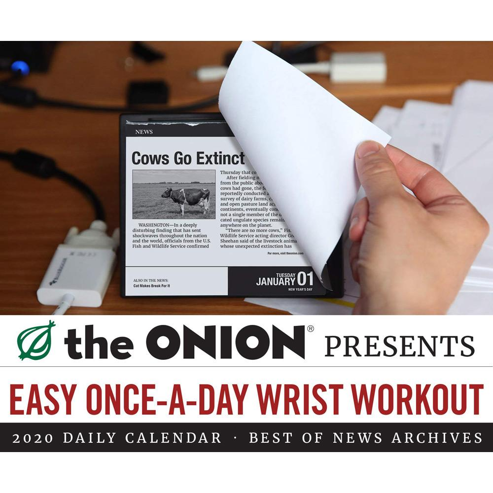 2020 The Onion Daily Calendar Front