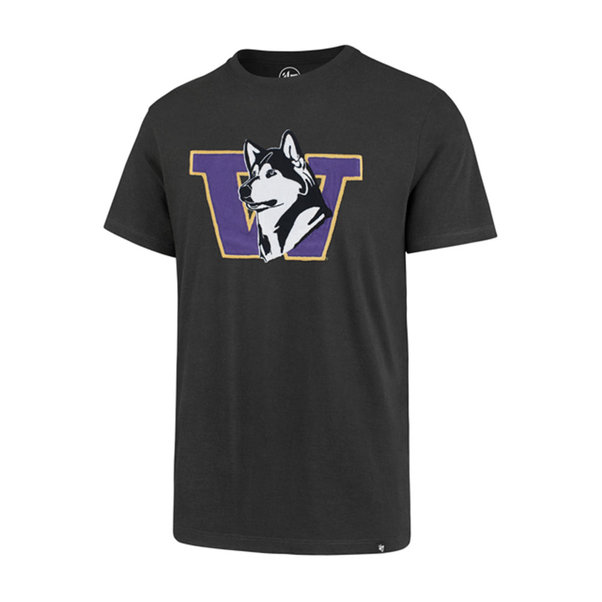 47 Brand Men's Retro Dog Applique Fieldhouse Tee – Dark Gray