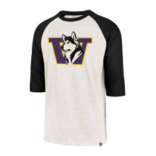 47 Brand Men's Retro Dog W Raglan Baseball Tee