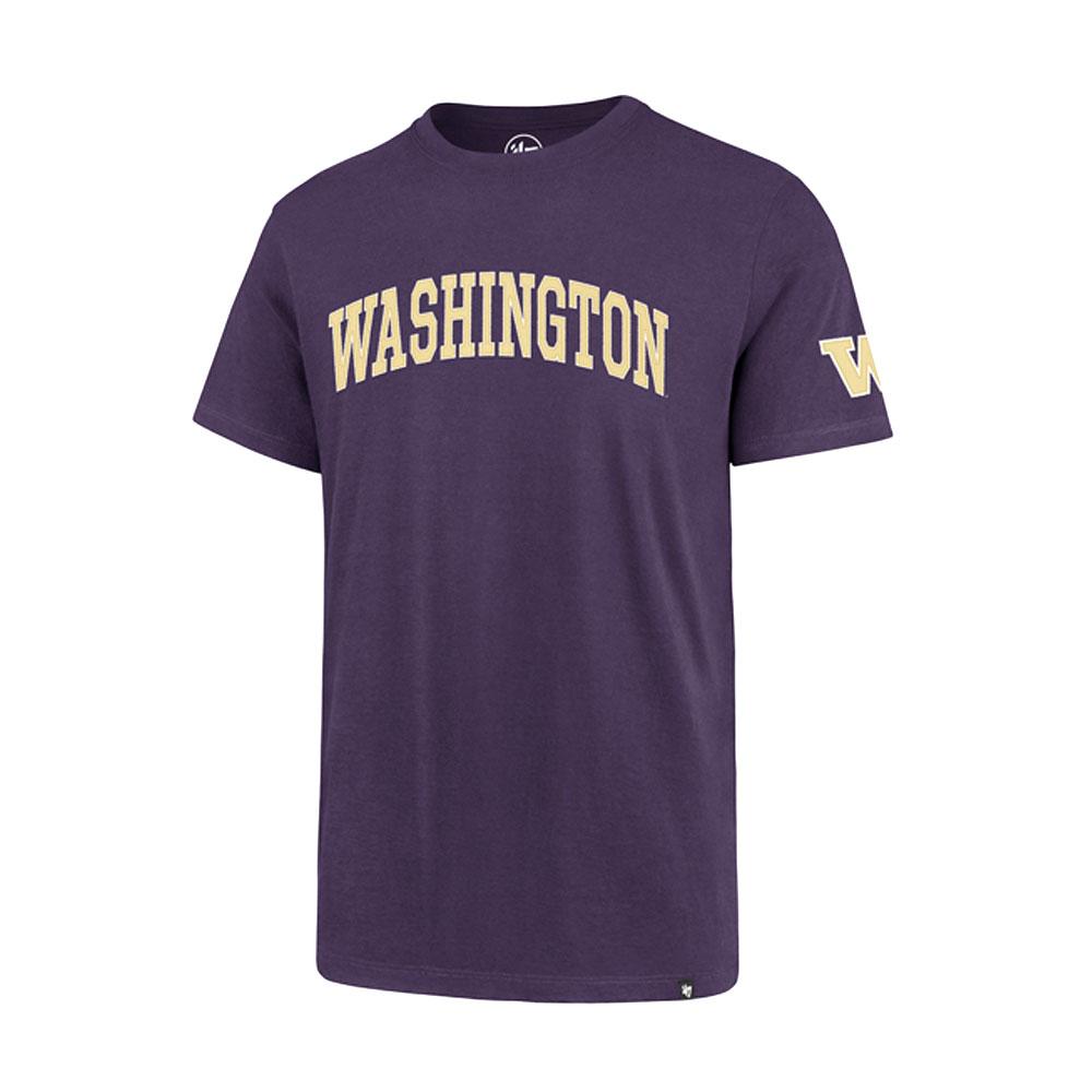 47 Brand Men's Washington Applique Fieldhouse Tee – Purple