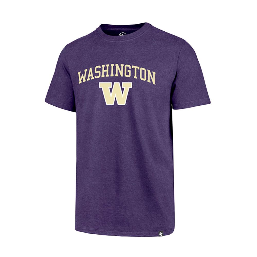 47 Brand Men's Washington Over W Club Tee – Purple