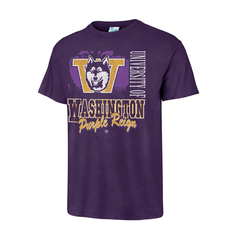 47 Brand Men's Washington Purple Reign Tubular Tee