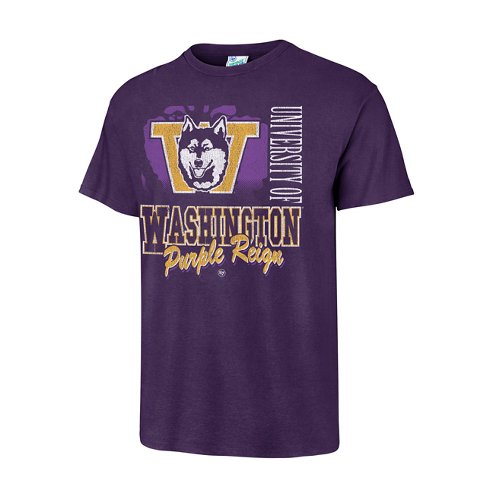 47 Brand Men's Washington Purple Reign Tubular Tee
