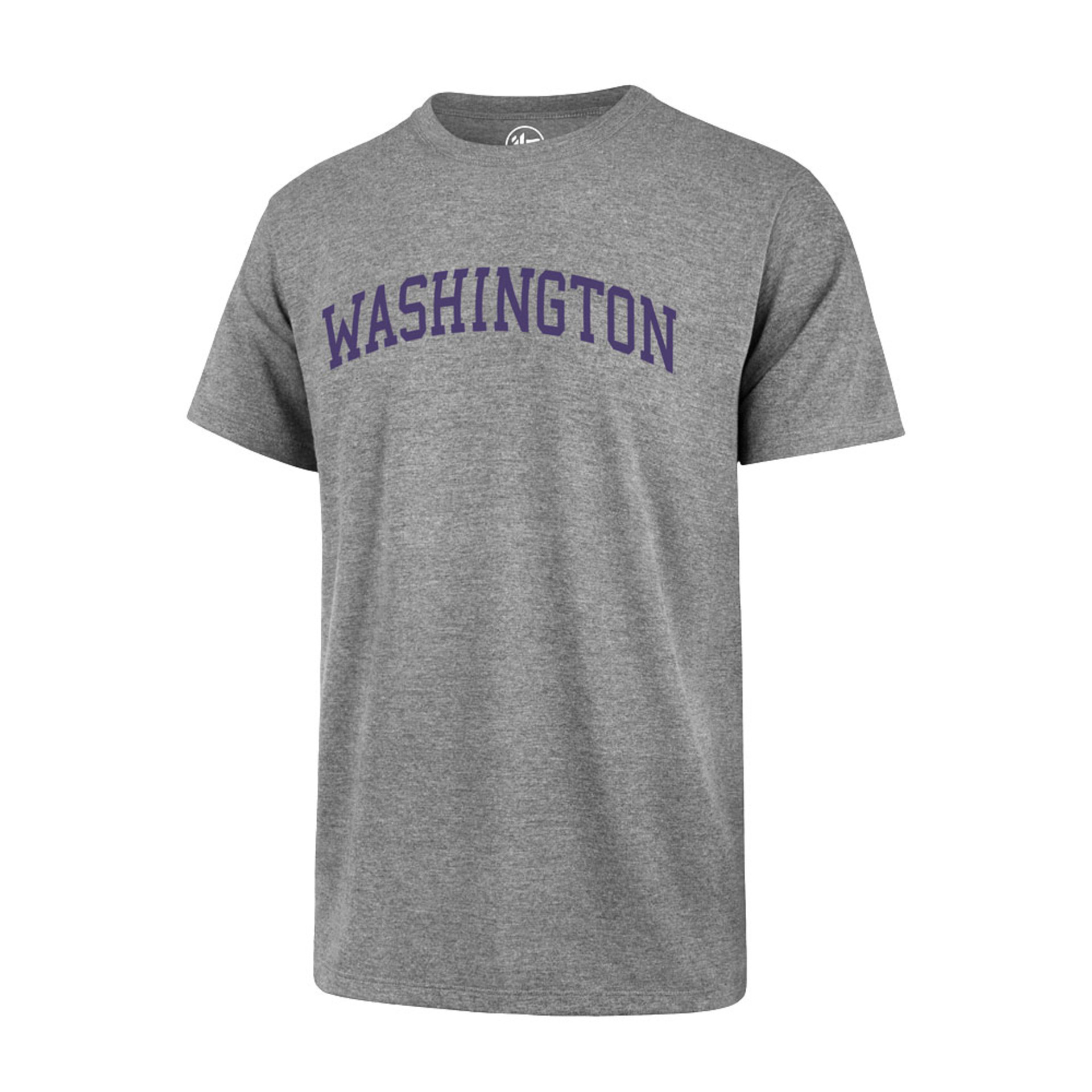 47 Brand Men's Washington Wordmark Club Tee – Gray