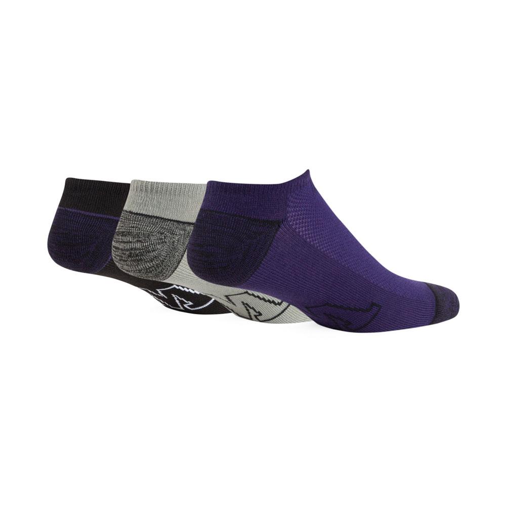 47 Brand Unisex W Blade Three Pack No Show Socks – Back