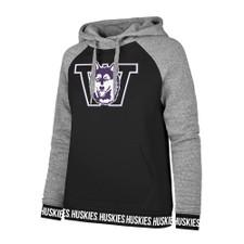 47 Brand Vault Dog Encore Revolve Hoodie Sport Fleece – Black
