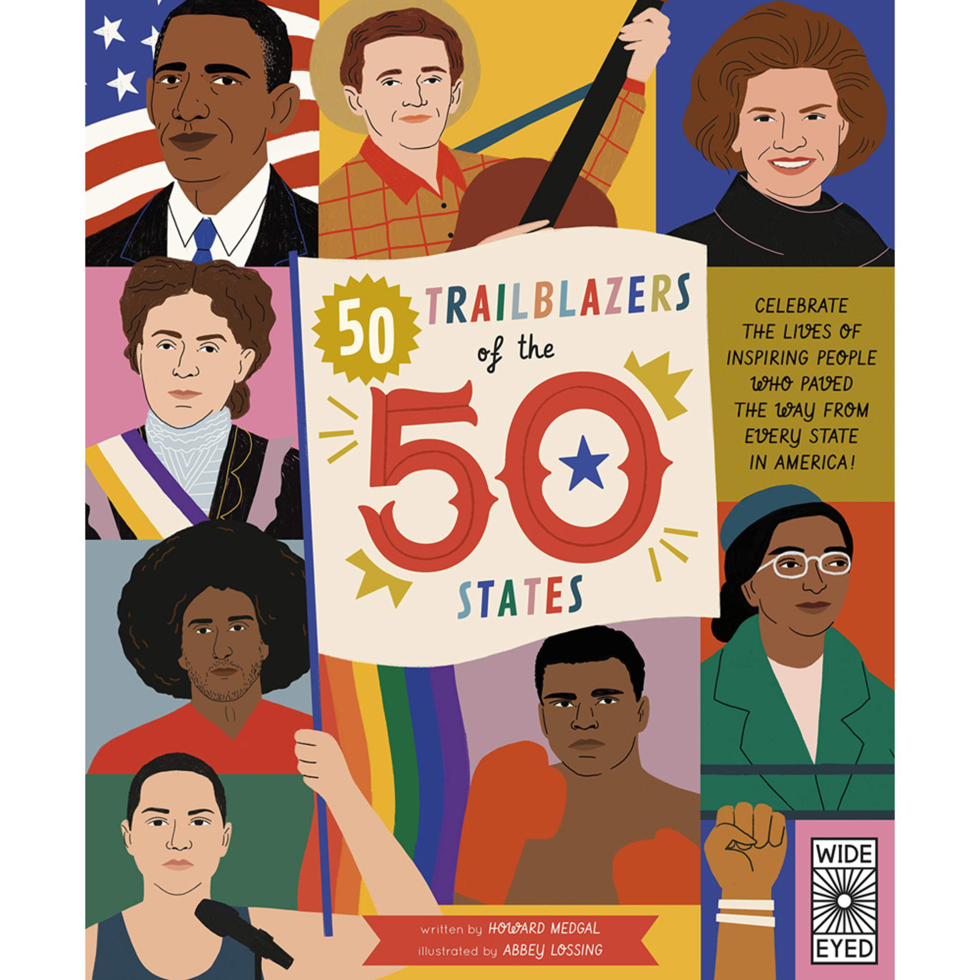 50 Trailblazers of the 50 States by Abbey Lossing