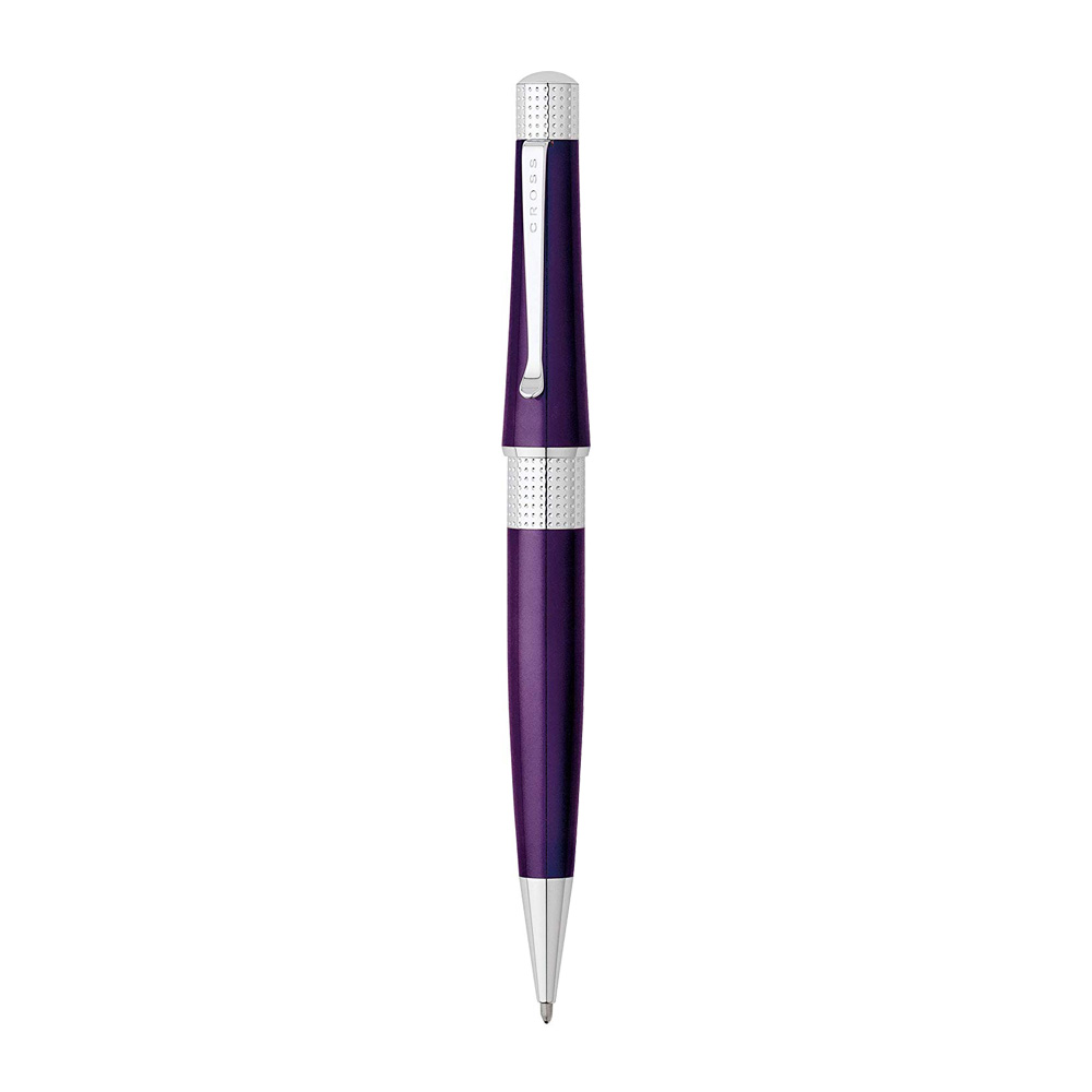 Cross Beverly Purple Ballpoint Pen Front
