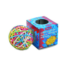 ACCO Assorted Colors Rubber Band Ball 275 Count