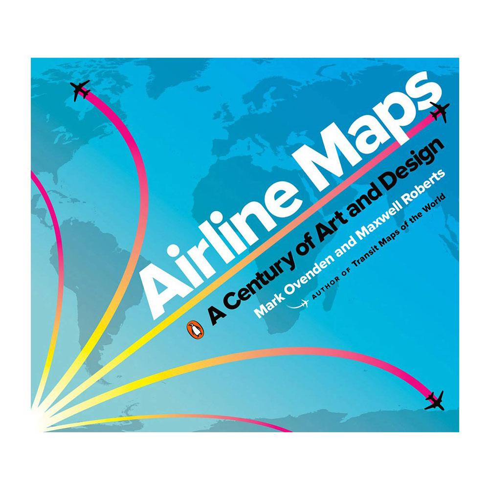 Airline Maps by Mark Ovenden