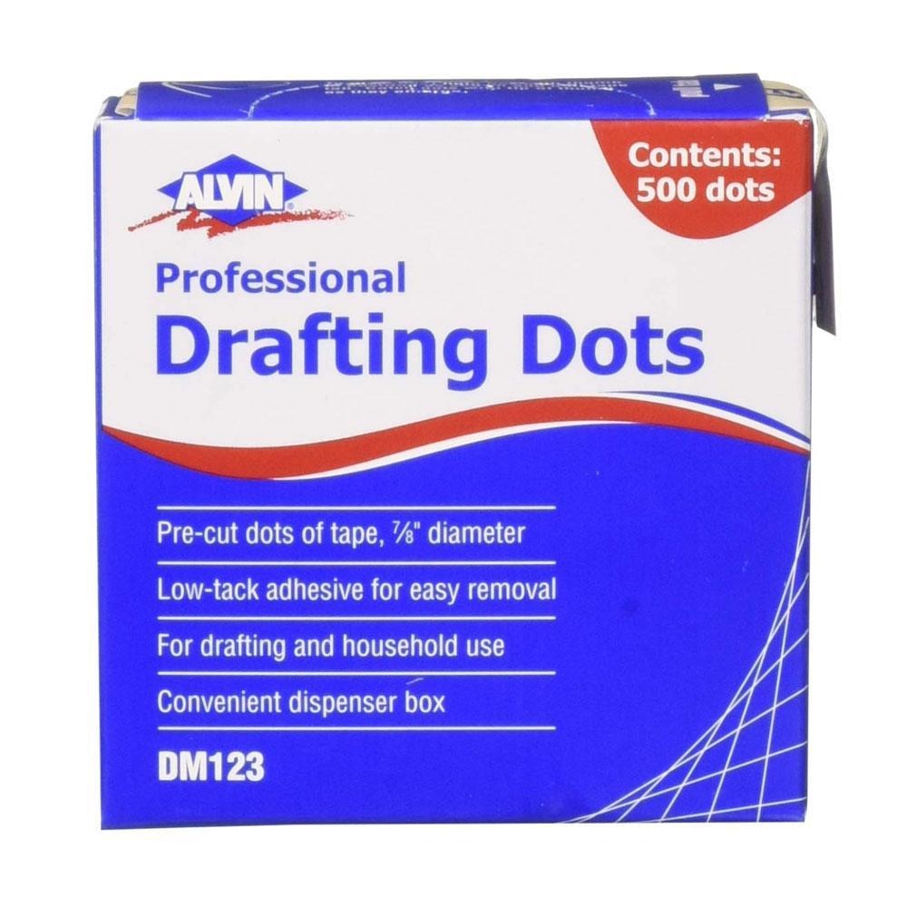 "Alvin 7/8"" Drafting Dots in Pull-Tab Dispenser 500 Pack"
