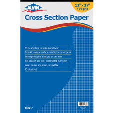 Alvin Cross Section Graph Paper Pad
