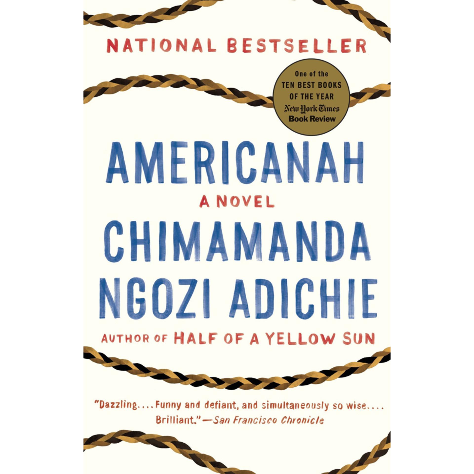 Americanah by Chimamanda Ngozi Adichie