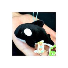 """Amuse Japan Orca 2"""" Beanbag Plush"""