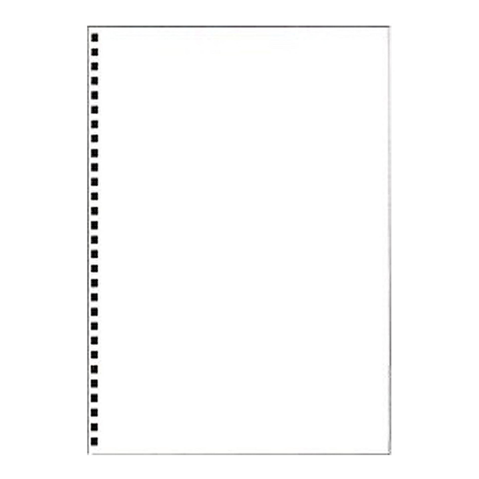 "Apica 10""x7"" Blank Spiral Notebook Paper"