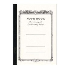"Apica White 7"" x 10"" Lined Notebook"