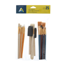 Art Alternatives Bag-O-Brushes 25 piece