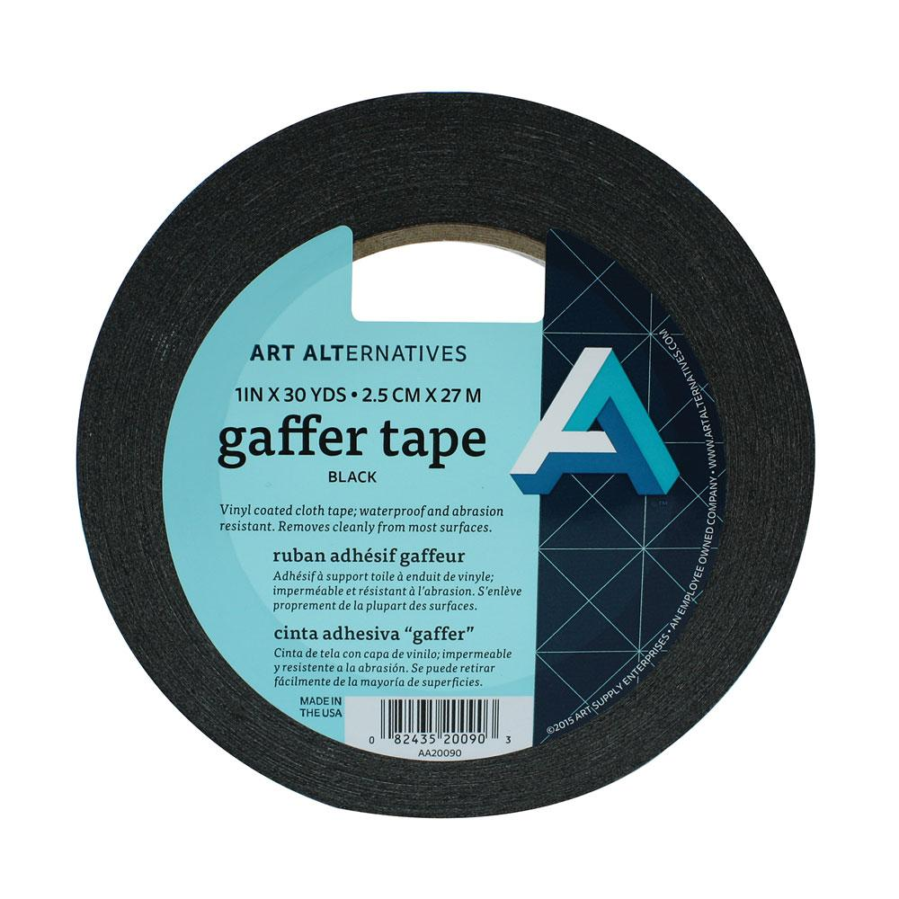 Art Alternatives Black Gaffer Tape 1""