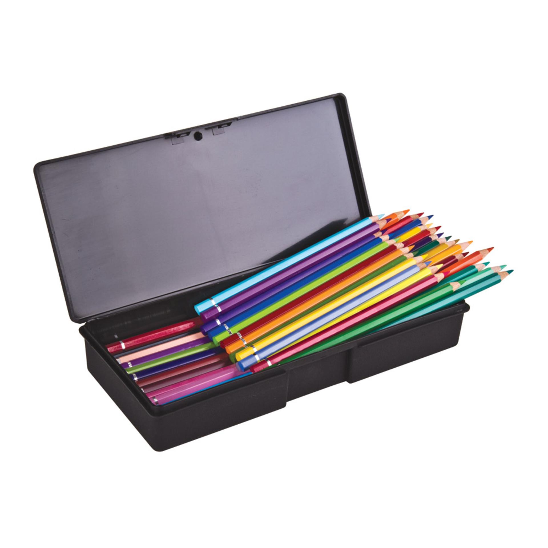 ArtBin Black Single Compartment Pencil Box