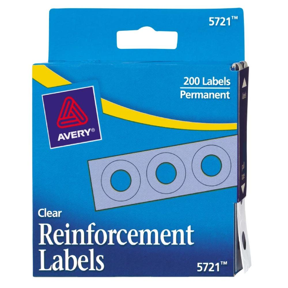 "Avery 0.25"" Permanent Reinforcement Labels 200ct"
