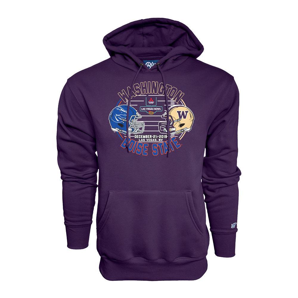 B84 Unisex Washington 2019 Las Vegas Bowl Hoodie – Purple