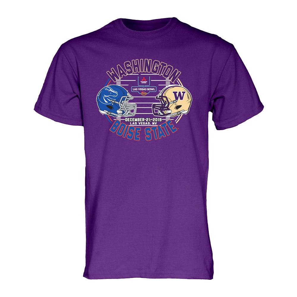 B84 Unisex Washington 2019 Las Vegas Bowl Tee – Purple