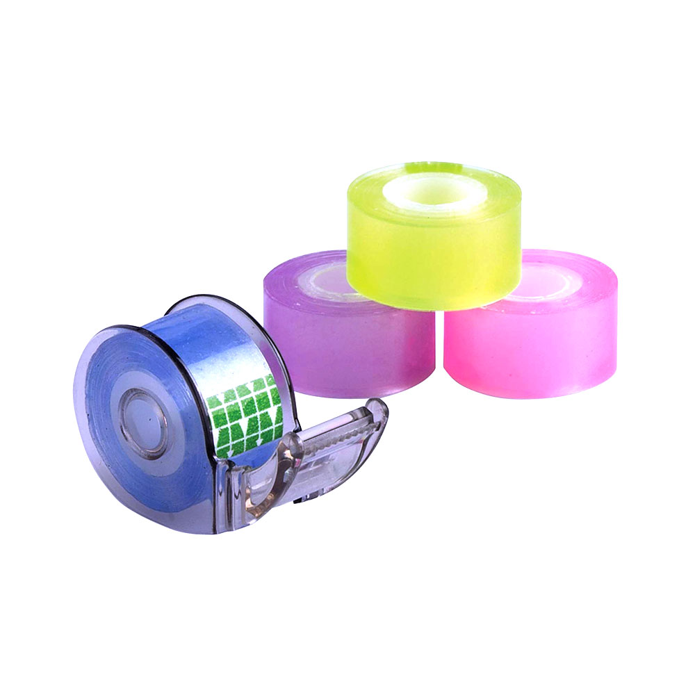 Baumgartens Assorted Colors Mini Tape With Dispenser 4 Pack