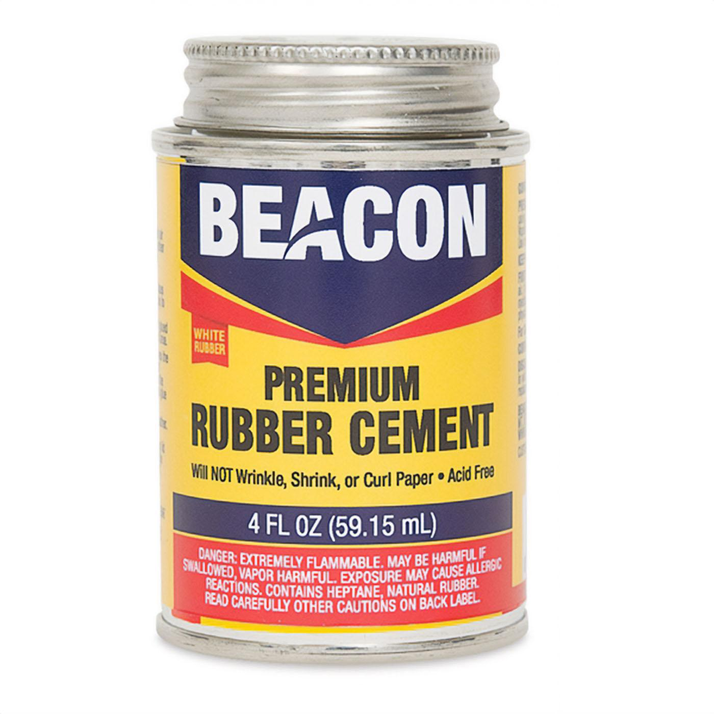Beacon Rubber Cement 4 Ounces
