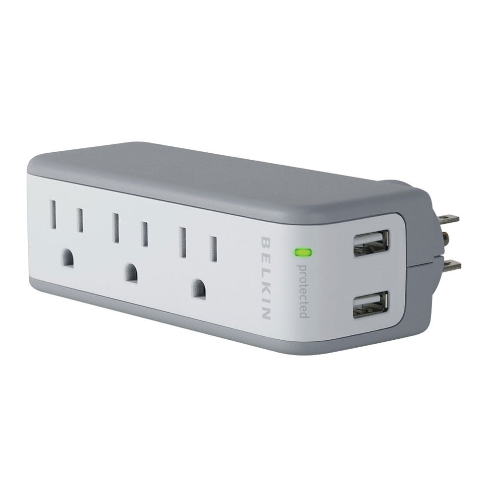 Belkin Mini Surge Protector with USB