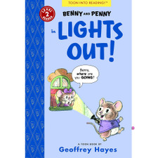 Benny and Penny in Lights Out! Toon Into Reading Level 2 Reader by Geoffrey Hayes