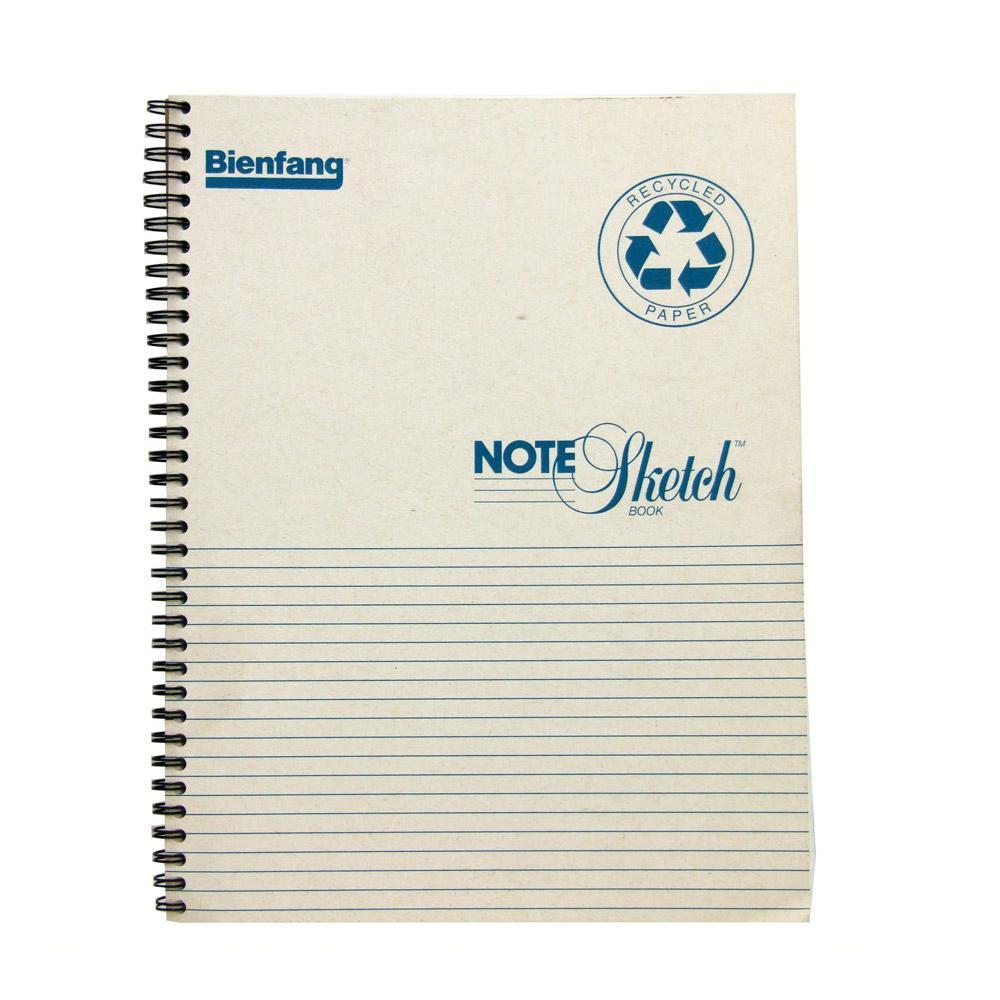 Bienfang Horizontal Spiral Bound Note Sketch Pad