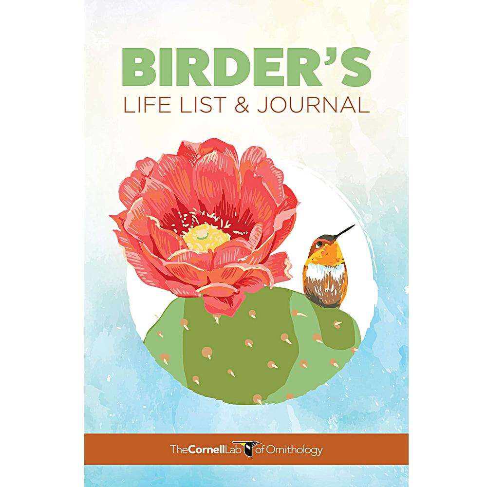 Birder's Life List & Journal by The Cornell Lab of Ornithology